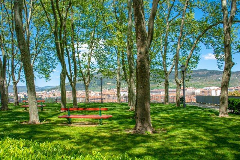 Jardines de la Taconera Pamplona Potujoči brlog