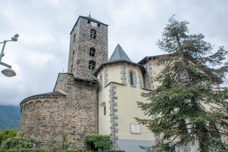 Església de Sant Esteve Andora Potujoči brlog