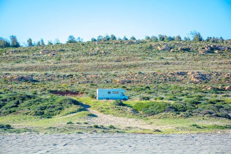Potujoči brlog Playa de Santa Clara