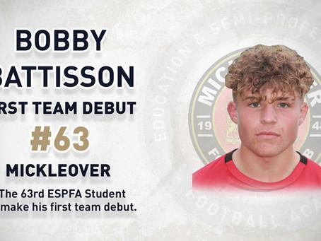 BOBBY BATTISSON – 63RD FIRST TEAM DEBUTANT
