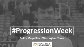 #ProgressionWeek – Colby Mcquillan