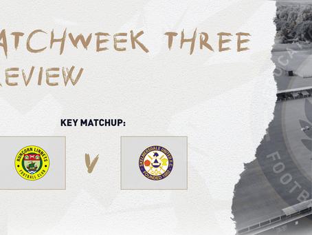 #MatchweekThree – PREVIEW