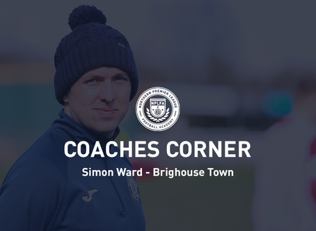 Coaches Corner - Simon Ward
