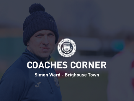 Coaches Corner - Simon Ward