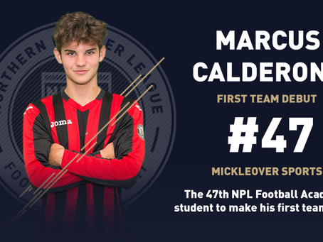 CALDERONE AND THATCHER FIRST TEAM DEBUTS