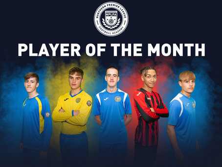 NPLFA PLAYER OF THE MONTH - RECAP
