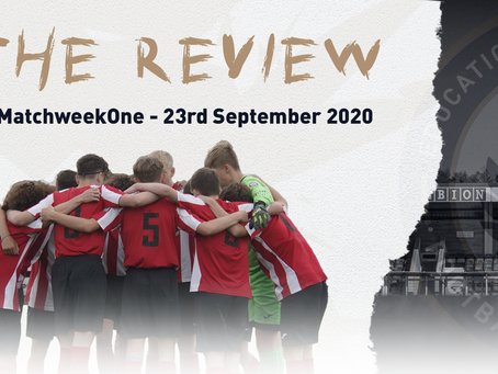 THE REVIEW - #MatchweekOne