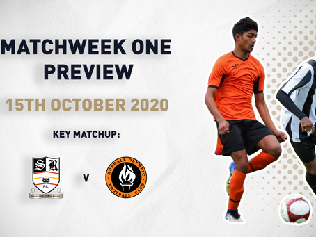 MATCHWEEK ONE - PREVIEW