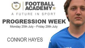#ProgressionWeek   Connor Hayes
