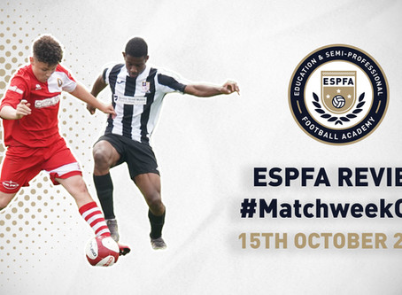 ESPFA MATCHWEEK REVIEW - #MatchweekOne