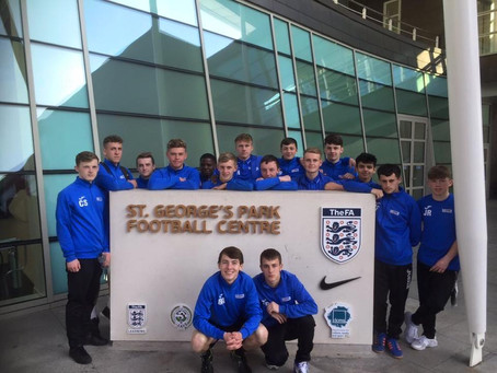 STUDENTS VISIT ST GEORGE'S PARK