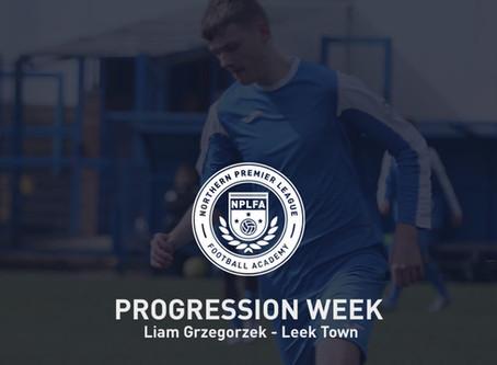 PROGRESSION WEEK – LIAM GRZEGORZEK