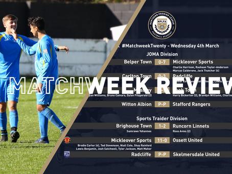 MATCHWEEK REVIEW - RECAP