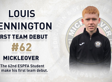 LOUIS PENNINGTON - 62ND FIRST TEAM DEBUTANT