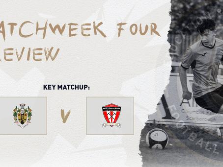 #MatchweekFour - Preview