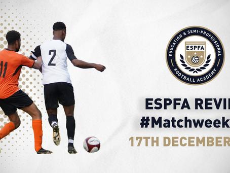 ESPFA MATCHWEEK REVIEW - #MatchweekSix
