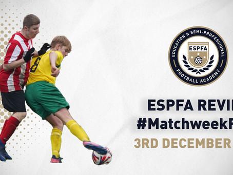 ESPFA MATCHWEEK REVIEW - #MatchweekFour