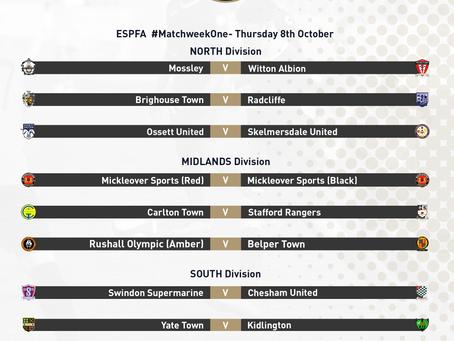 ESPFA Fixture Announcement