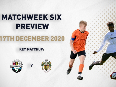 MATCHWEEK SIX - PREVIEW