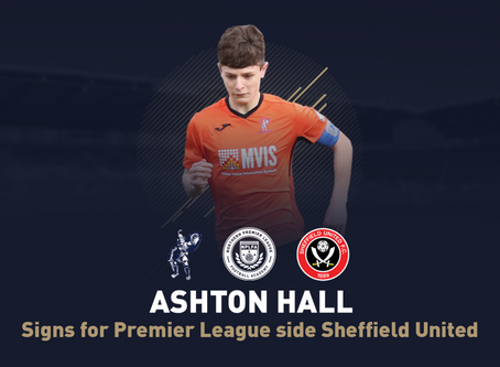 STUDENT MOVES TO SHEFFIELD UNITED