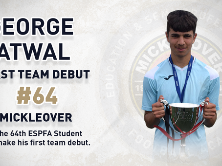 GEORGE ATWAL - 64TH FIRST TEAM DEBUTANT