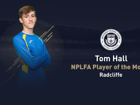 JOMA DIVISION PLAYER OF THE MONTH - NOVEMBER/DECEMBER