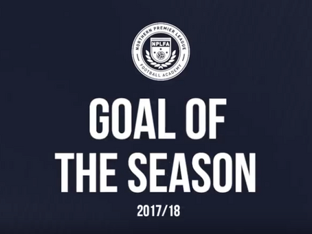 GOAL OF THE SEASON 2017/18
