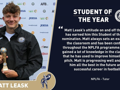 STUDENT OF THE YEAR 2018/19