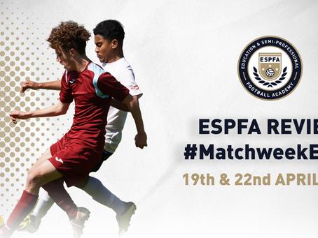 ESPFA MATCHWEEK REVIEW - #MatchweekEight