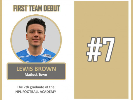 LEWIS BROWN MAKES DEBUT