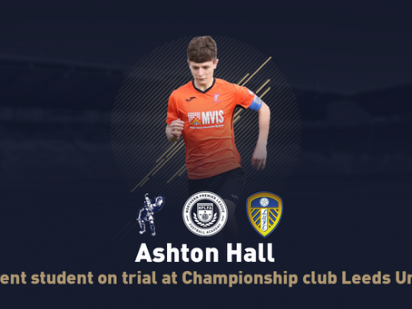 STUDENT ON TRIAL AT LEEDS UNITED