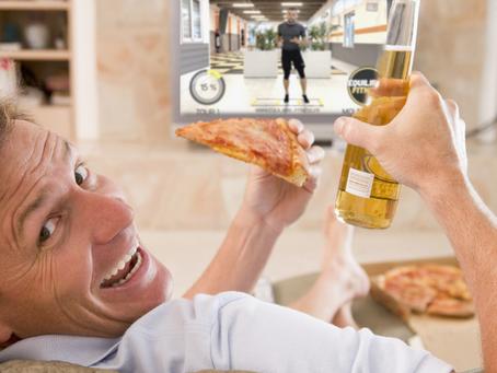 La nouvelle tendance : Manger devant ses cours de sport en ligne