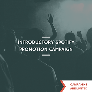 Introductory Spotify Promotion Campaign-