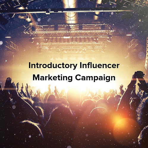 Introductory Influencer Marketing Campaign