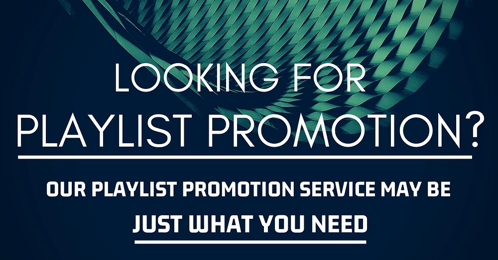 Spotify Playlist Promotion Service