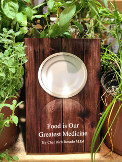 """Chef Rich Book """"Food Is Our Greatest Medicine"""""""
