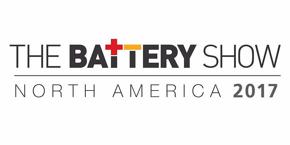 The Battery Show - North America 2017