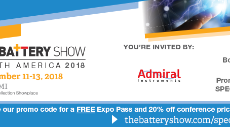 The Battery Show Is Next Week! #TBS18
