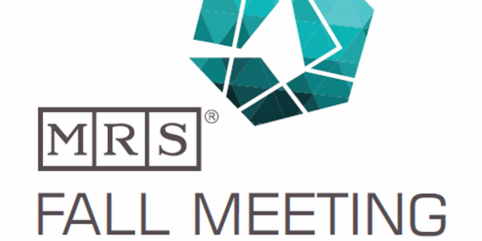 Materials Research Society Fall 2018 Meeting