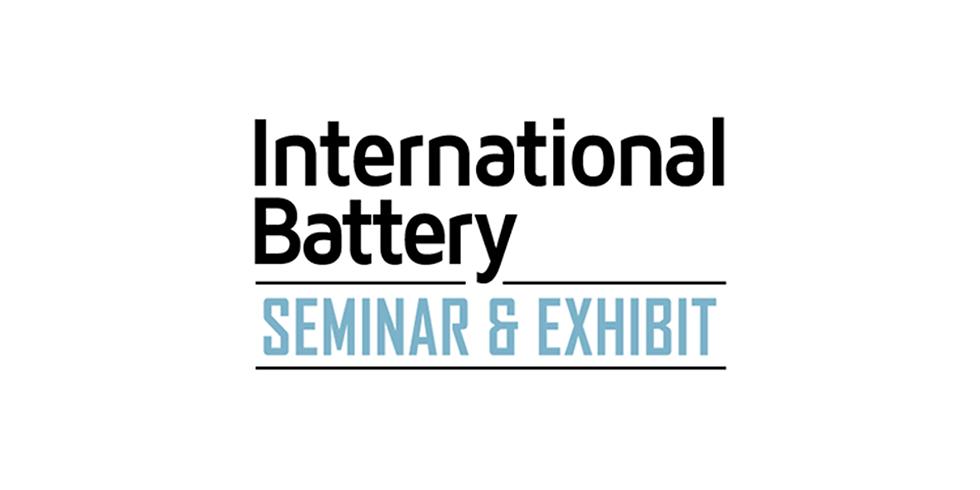 37th Annual International Battery Seminar & Exhibit