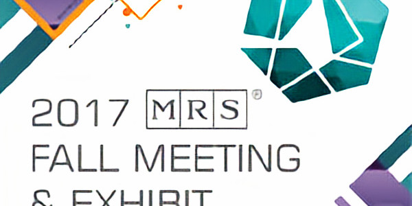 Materials Research Society Conference Fall 2017
