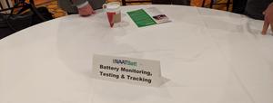 NAATBatt breakfast discussion table