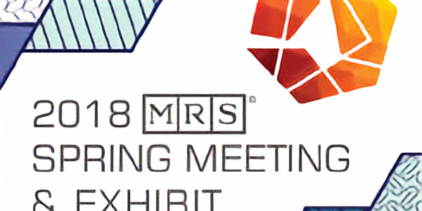 Materials Research Society Spring 2018 Meeting