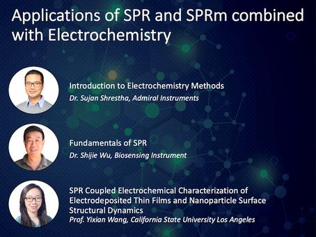 Free Webinar about Electrochemistry with Surface Plasmon Resonance