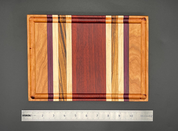 Padauk Center Cutting Board