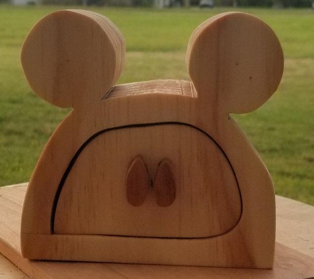 Mickey Mouse Bandsaw Box