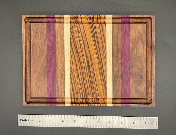 Zebra Center Cutting Board
