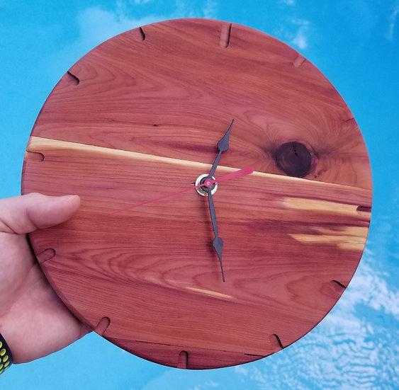 Handmade Wooden Clock