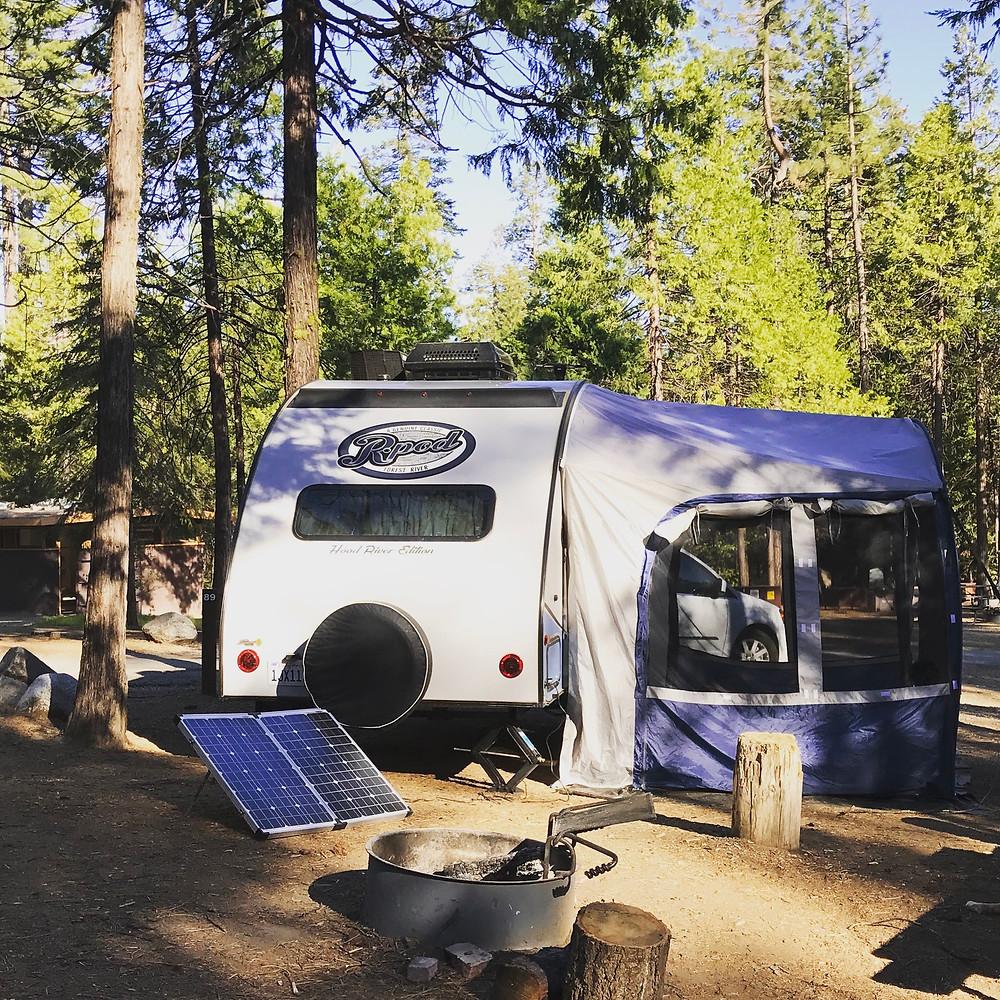 Site 89, Hogdon Meadow Campground, Yosemite National Park