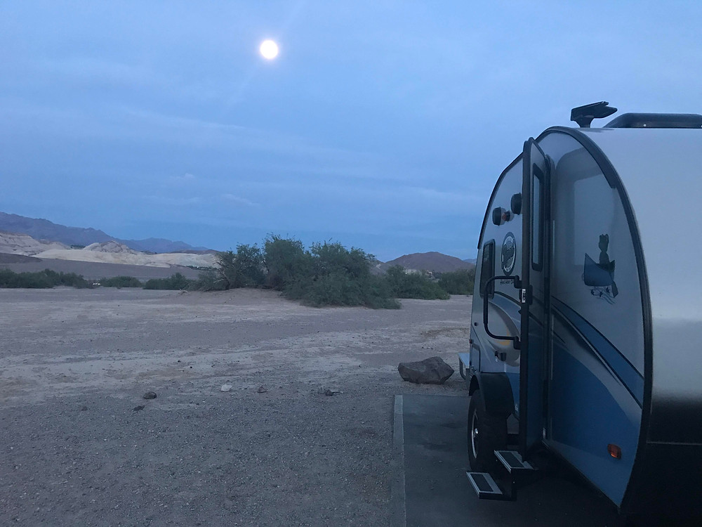 Site 47, Furnace Creek Campground, Death Valley National Park